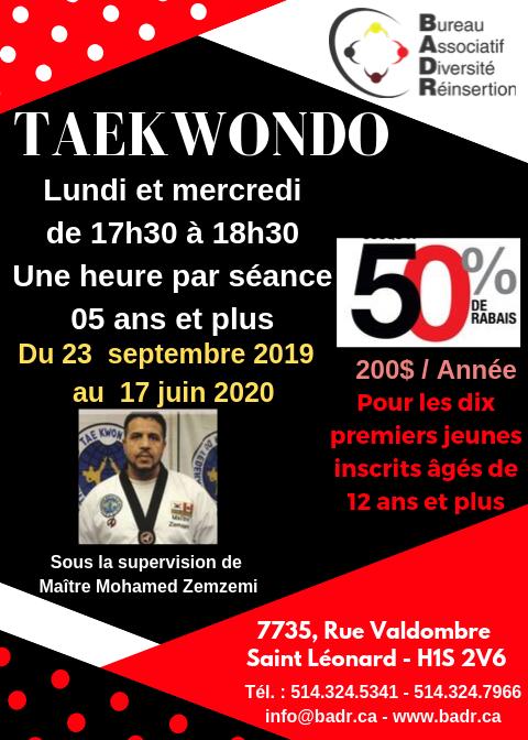 Taekwondo jeunes