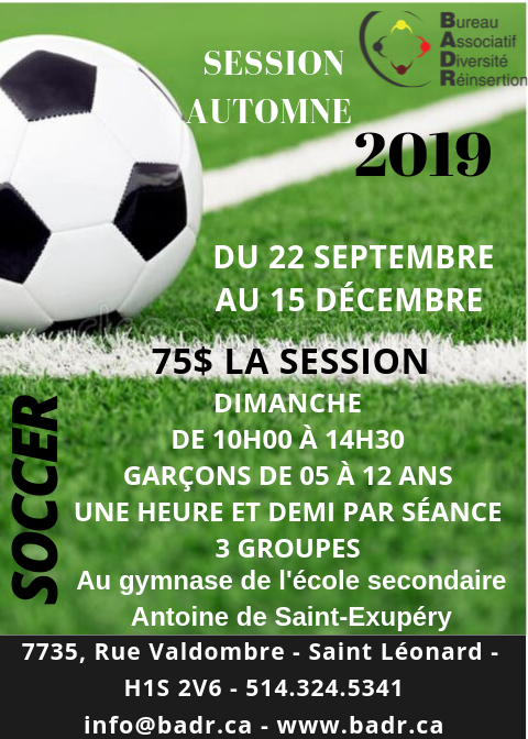 soccer automne2019