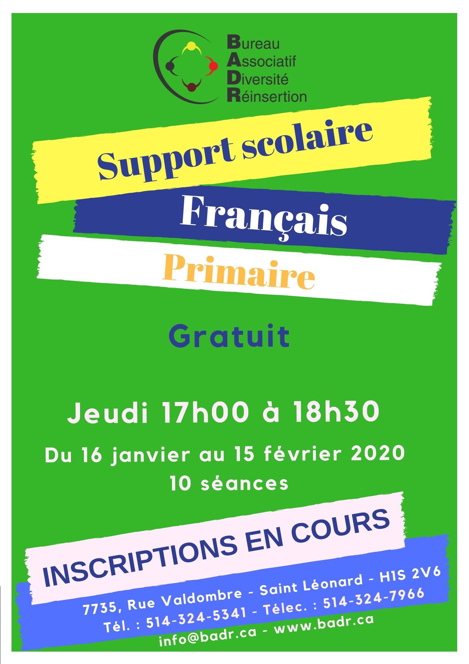 français primaire