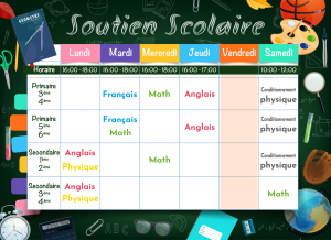 support scolaire